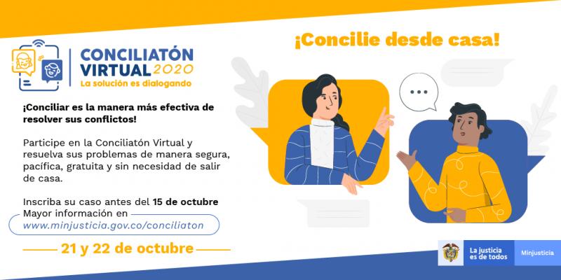 Conciliatón virtual REDES-17